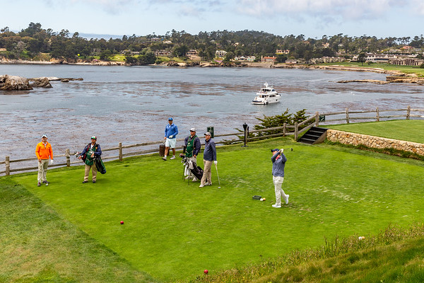 Pebble Beach Golf, May 2018