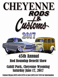 Cheyenne Rods & Customs 45th Annual Rod Roundup Benefit Show