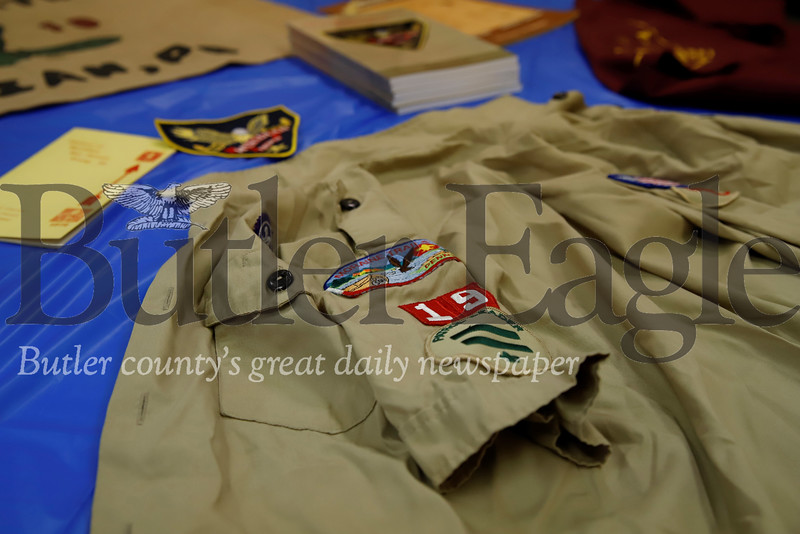 Boy Scout Troop 19 celebrated their 100th anniversary Saturday. Celebrations included dinner and presentations by past members. Seb Foltz/Butler Eagle