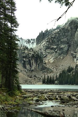 Grandjean Camp to Pettit Lake Camp 9/15-16/15