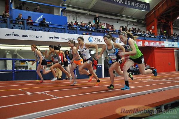 Girls' 800, Michigan Only - 2014 NB Indoor Nationals