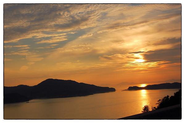 1 - Sunset from the Seto Ohashi (6/7/2008)