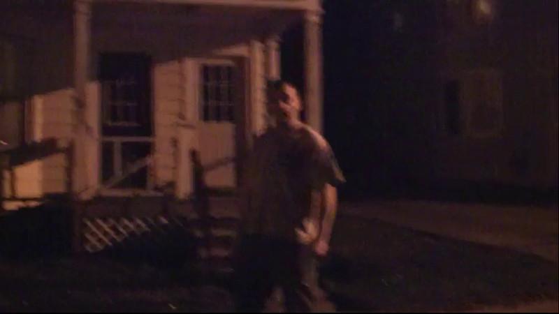 Lewiston burglar caught on camera.m4v
