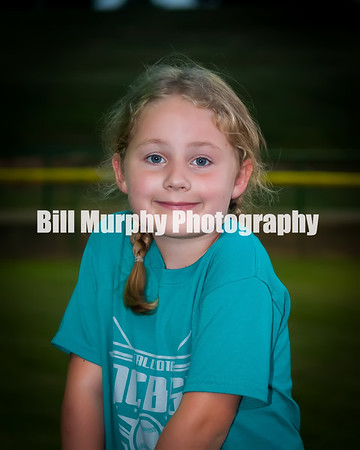 2016 Fall Ball 5-7 Green Softball Team
