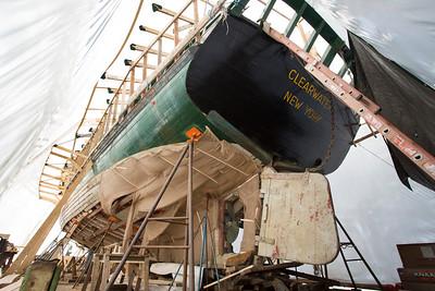 Sloop Clearwater Major Maintenance