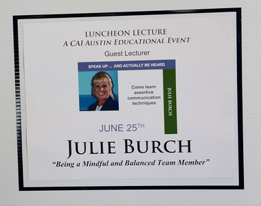 CAI JUNE 2015 LUNCHEON
