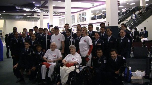 Honor Flight's Alan Kornman photos