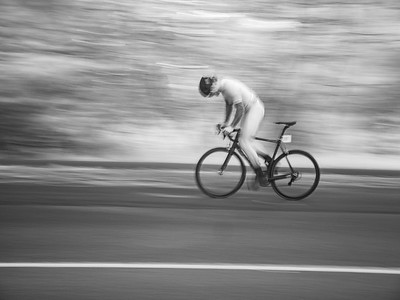 Bicycle Riders Infrared