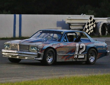Racing at Lorain County Speedway