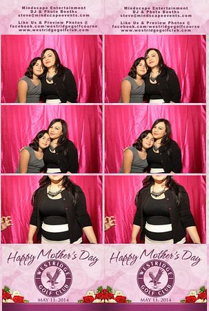 Westridge Golf Club Mother's Day Brunch - Photo Booth Pictures