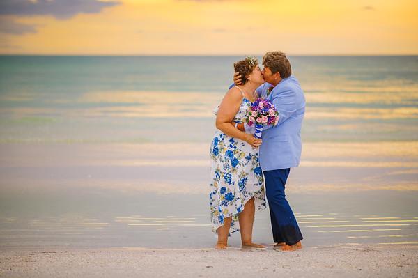 St Pete Beach Wedding Elopement at Pass A Grille Beach