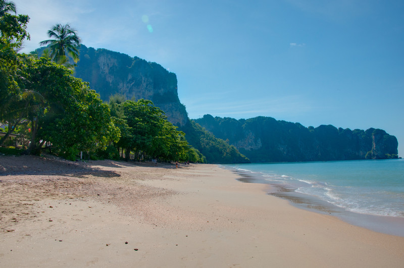 Beach at Ao Nang, Krabi  