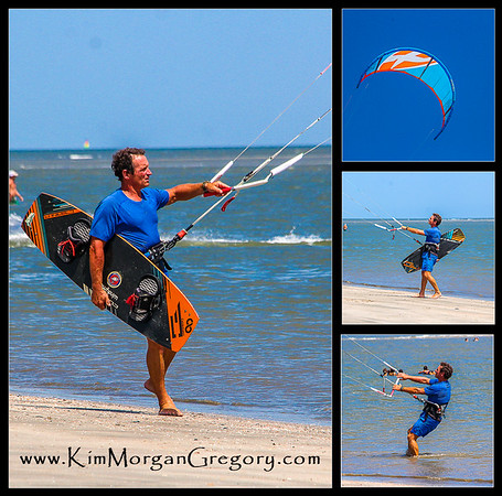 KITEBOARDERES ON SULLIVAN'S | 8-21-16