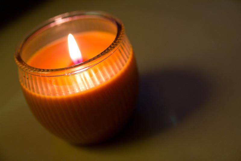 11/14/2012 - Pumpkin spice candle