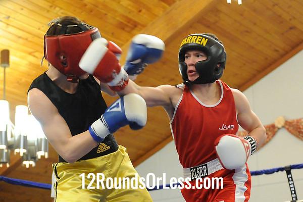 Bout 7 Colton Elser, Warren B.C. -vs- Tracer Yargen, Joe Bord Boxing 125 lbs