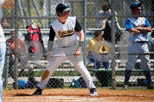 2011-04-26 Lynbrook HS Baseball vs Lawrence HS