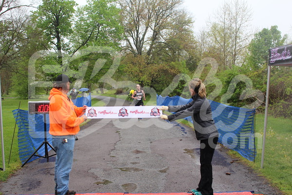 2016 Bucks County Ten Miler Finish Line