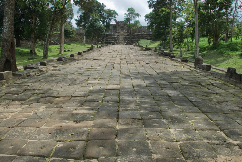 Pathway leading to the Rear Ruins of Preah Vihear Temple
