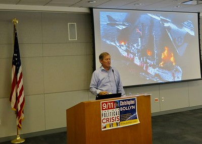 Christopher Bollyn at San Jose State University