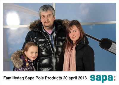 Familiedag Sapa Pole Products, 20-04-2013