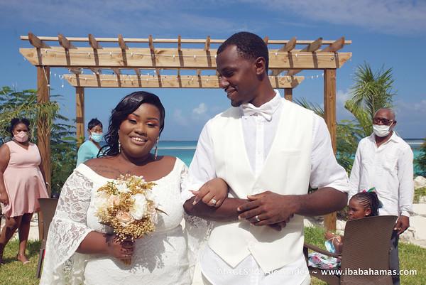 Ryan and Khris's Wedding. Exuma, Bahamas
