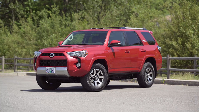 2017 Toyota 4Runner TRD Off-Road Premium Parked Reel
