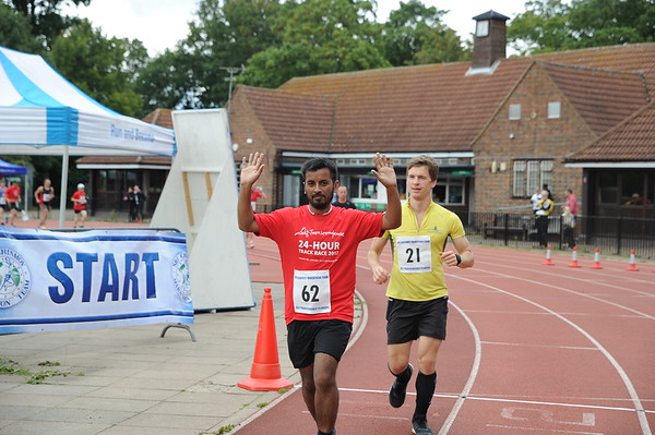 24 hours RACE. 16 September.Tooting Bec Track.