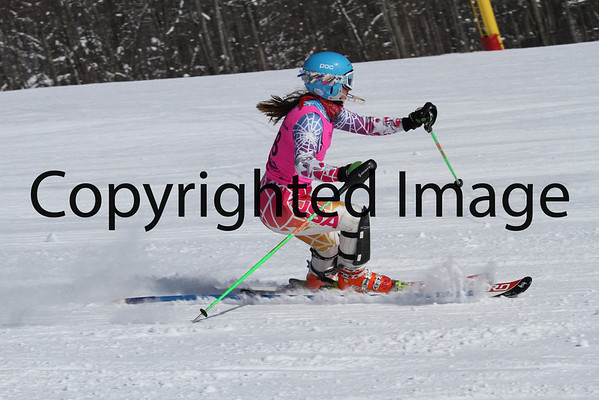 U16 Ladies Slalom 2/9 Run 2