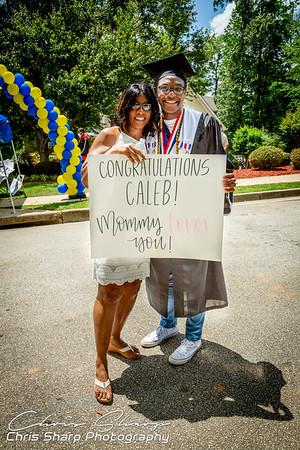 Caleb's Graduation Parade
