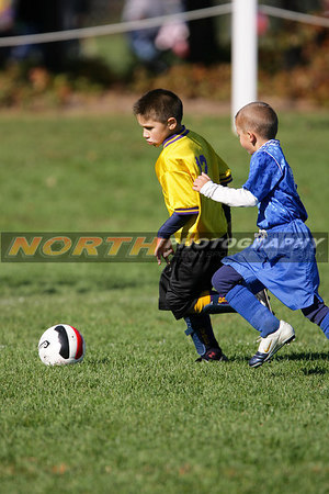(U8 Boys) Bayport Cyclones vs. Lake Grove