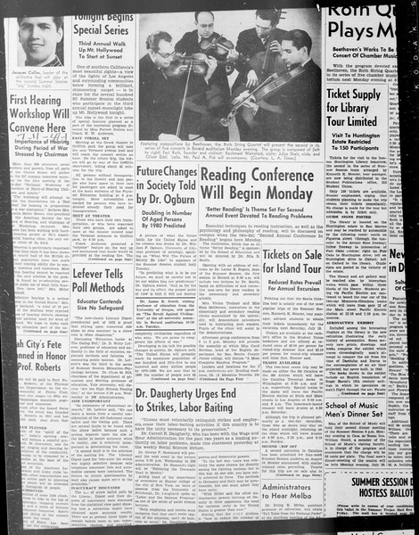 Daily Trojan, Vol. 33, No. 5, June 13, 1941