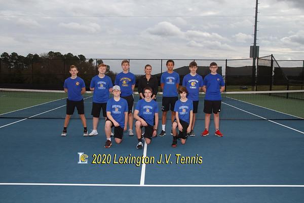 2020 JV Boys Tennis
