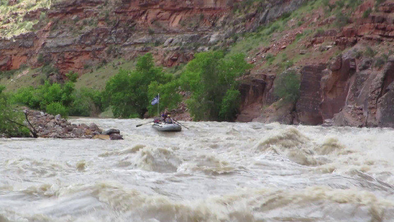 Matt and Matt through Warm Springs Rapid