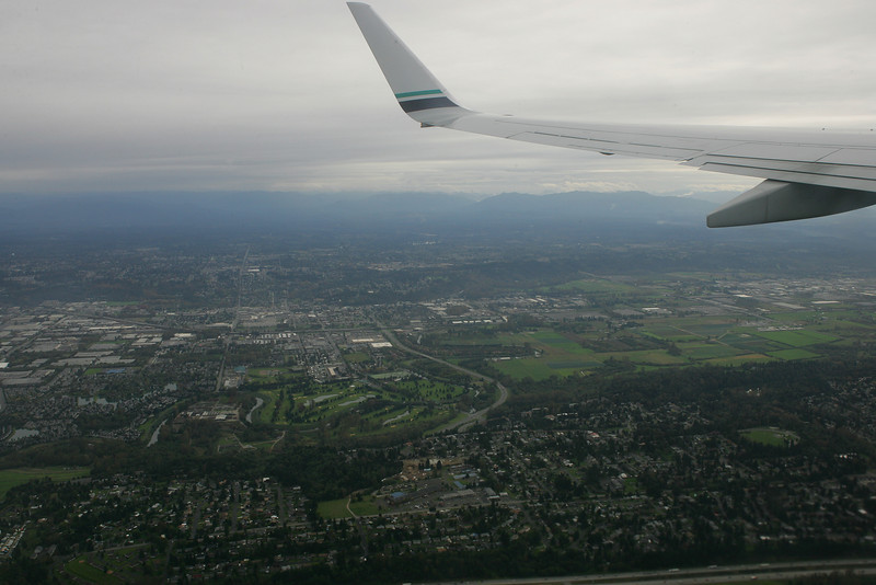 Looking over Auburn...