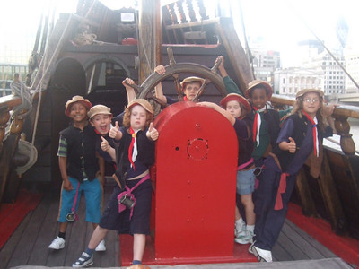 Golden Hind Sleepover 2009