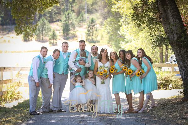 Haley & Robert ~ 6/18/16 ~ Family/Bridal Party Portraits