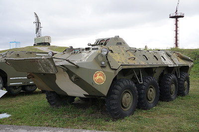 BTR-70 with extra armour