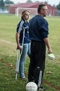2012 PHS Girls Soccer vs Jeffersonville