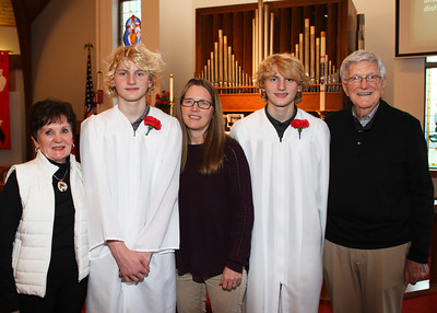 October 28, 2018. Confirmation Day