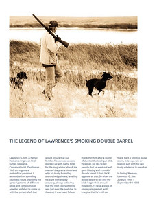 The Legend of Lawrence's smoking double barrel