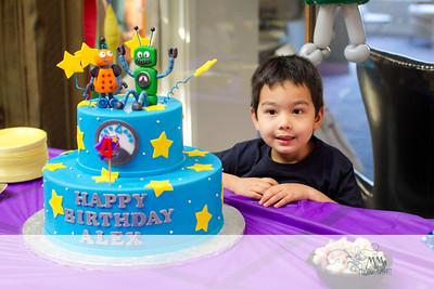 Alex Fourth Birthday