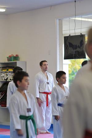 Marks Black Belt Test Nov 2010
