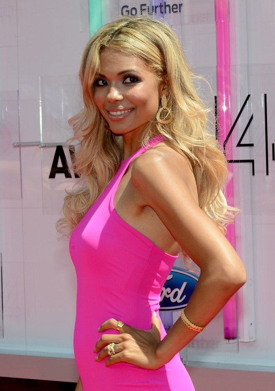 . Actress Jennifer Freeman attends the BET AWARDS \'14 at Nokia Theatre L.A. LIVE on June 29, 2014 in Los Angeles, California.  (Photo by Earl Gibson III/Getty Images for BET)