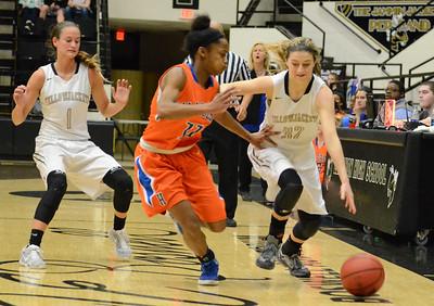 Basketball - LHS Girls 2015-16 - Hillcrest