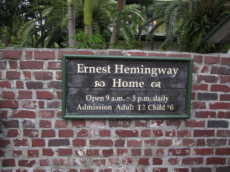 Earnest Hemingway's Home