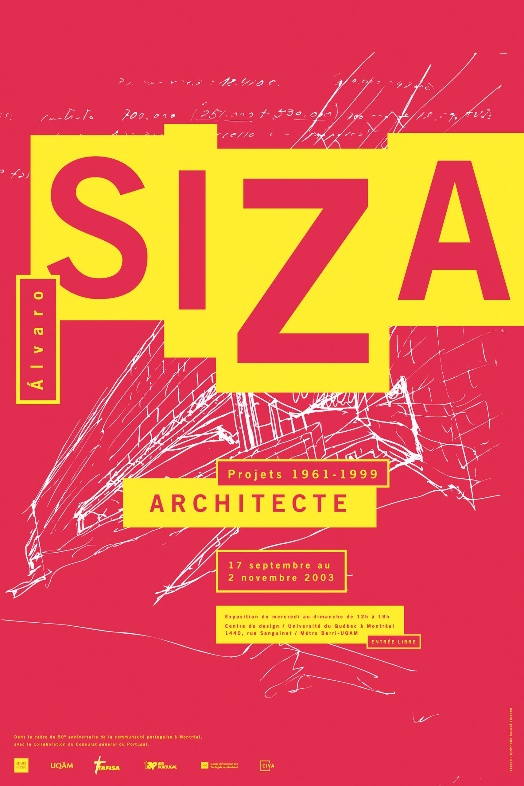 2003 - Exposition - Alvaro Siza architecte projets 1961-1999 ©Stéphane Huot