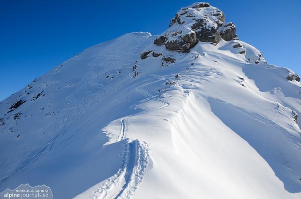 Rothorn ski tour, Diemtigtal 2013-02-18