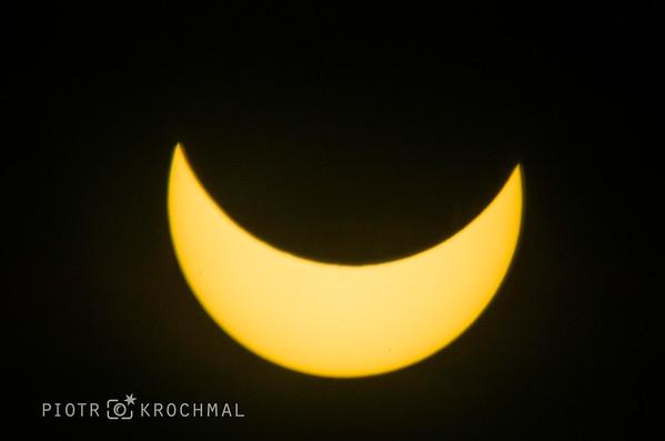 Solar Eclipse in Krakow