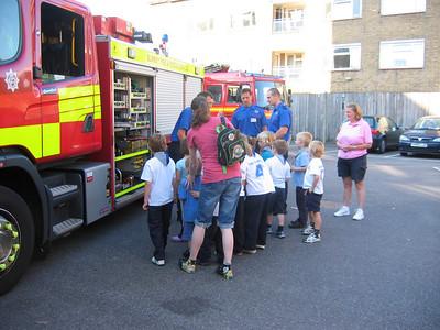 2008 Beaver Fire Station visit