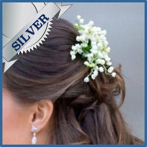92203 Bride hair decorations Silver